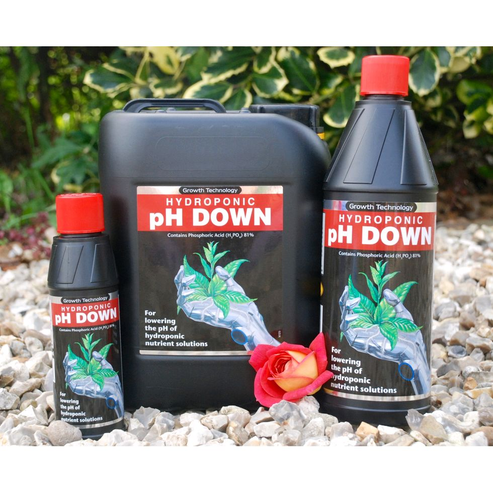 pH Down Hydroponic Solution » £4 45 - Growth Technology